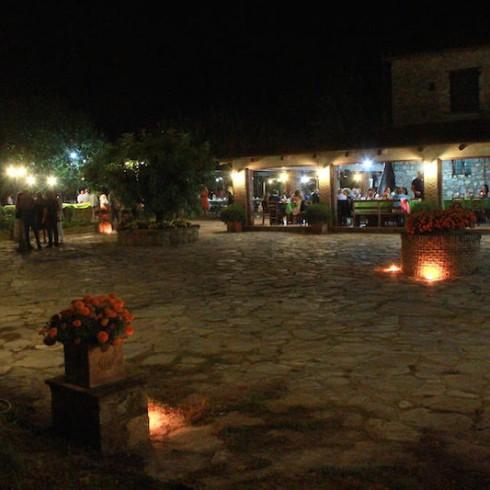 Isca Delle Donne Ferragosto Cena all'aperto a Palinuro